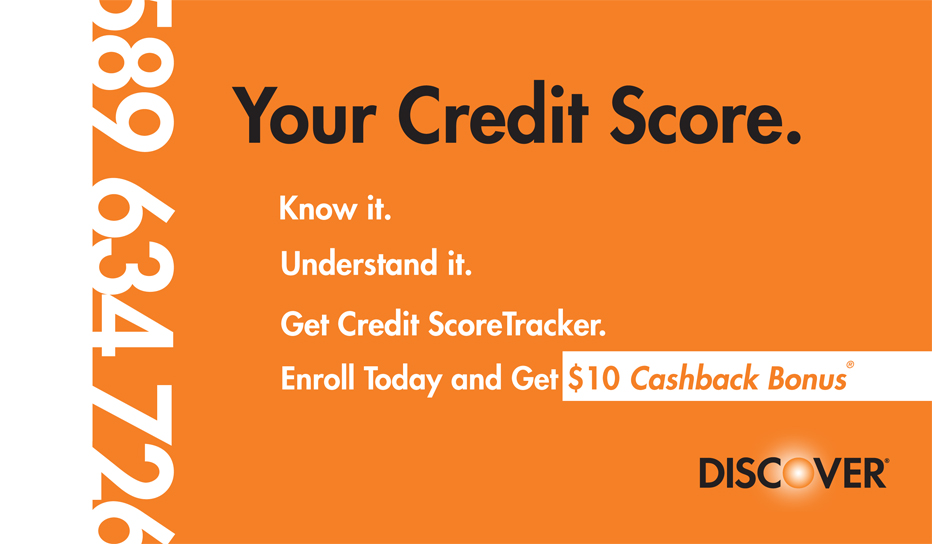 Discover Credit Score Tracker (Exterior)