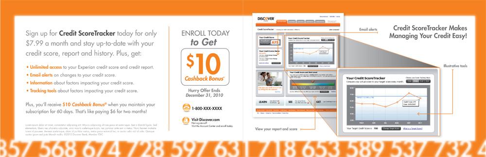 Discover Credit Score Tracker (Interior)